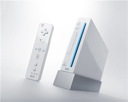 wii console and wii mote