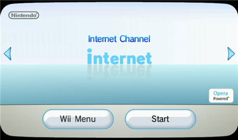 wii internet channel